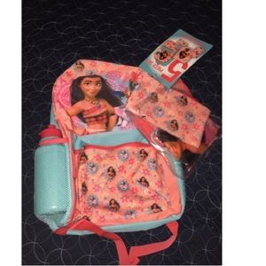 Moana backpack with extra